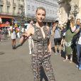 Anya Taylor-Joy - Défilé de mode Schiaparelli Haute-Couture collection Automne/Hiver 2018/19 lors de la fashion week à Paris, le 2 juillet 2018. © Veeren/CVS/Bestimage