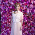 Lucie de la Falaise - Défilé de mode Schiaparelli Haute-Couture collection Automne/Hiver 2018/19 lors de la fashion week à Paris, le 2 juillet 2018. © Olivier Borde/Bestimage