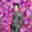 Farida Khelfa - Défilé de mode Schiaparelli Haute-Couture collection Automne/Hiver 2018/19 lors de la fashion week à Paris, le 2 juillet 2018. © Olivier Borde/Bestimage