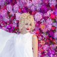 Pixie Lott - Défilé de mode Schiaparelli Haute-Couture collection Automne/Hiver 2018/19 lors de la fashion week à Paris, le 2 juillet 2018. © Olivier Borde/Bestimage