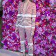 Olivia Palermo - Défilé de mode Schiaparelli Haute-Couture collection Automne/Hiver 2018/19 lors de la fashion week à Paris, le 2 juillet 2018. © Olivier Borde/Bestimage