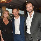 Marc-Olivier Fogiel et son mari François Roelants embarquent pour Line Renaud