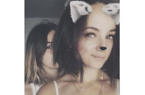 Alizée et sa fille Annily à Londres : Leur