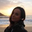 Alizée sublime à Ajaccio en Corse, un cliché immortalisé par sa fille Annily. Le 11 novembre 2017.