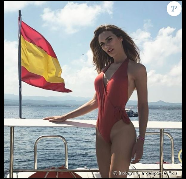 Angela Ponce va représenter l'Espagne à Miss Univers. Elle a publié des photos d'elle sur Instagram. 2018