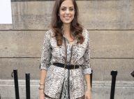 Fashion Week : Anouchka Delon, craquante en reptile pour Elie Saab