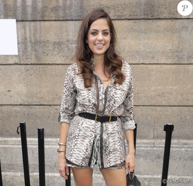 """Anouchka Delon - Défilé de mode Haute-Couture automne-hiver 2018/2019 """"Elie Saab"""" à Paris le 4 juillet 2018. © CVS / Veeren / Bestimage"""