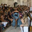 """Défilé de mode Haute-Couture automne-hiver 2018/2019 """"Elie Saab"""" à Paris le 4 juillet 2018."""
