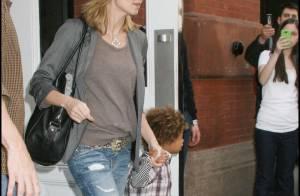 Heidi Klum : Enceinte, oui... mais super branchée comme ses enfants !