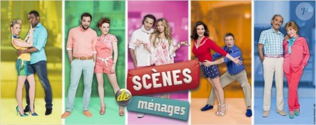 Visuel de la série Scènes de Ménages (M6)