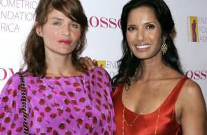 Quand Helena Christensen et Padma Lakshmi sortent le grand jeu...