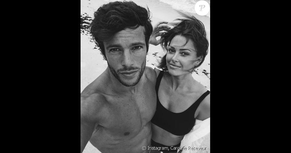Caroline Receveur et Hugo Philip, jeunes parents du petit Marlon - Instagram, juillet 2018