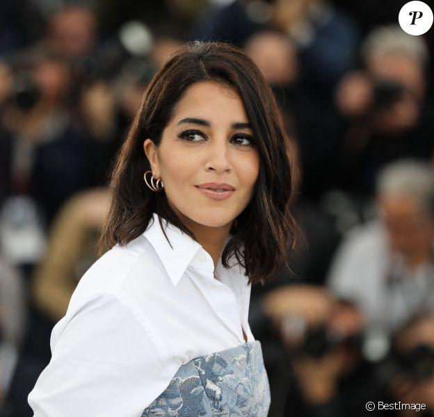 """Leïla Bekhti - Photocall du film """"Le grand bain"""" au 71ème Festival International du Film de Cannes, le 13 mai 2018. © Borde / Jacovides / Moreau / Bestimage"""