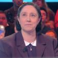 """Danielle Moreau dans """"Touche pas à mon poste"""" le 2 février 2017 sur C8."""