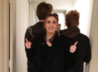 Julie Gayet donne des nouvelles de ses fils, Tadéo et Ezéchiel