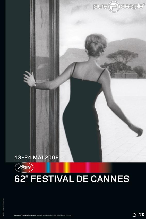 L'affiche du 62e Festival de Cannes du 13 au 24 mai 2009