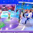 """Le candidat Vincent a emprunté une chemise à Jean-Luc Reichmann dans """"Les 12 coups de midi"""" - TF1"""
