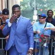 """Curtis Jackson (50 Cent) arrive sur le plateau de l'émission """"The View"""" à New York, le 17 juillet 2018."""