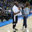 """Floyd Mayweather Jr. lors de la soirée de charité """"K Charity Challenge Celebrity Basketball Game"""" à Los Angeles le 17 juillet 2018"""
