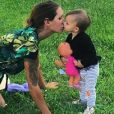 Julia Paredes (Friends Trip) et sa fille Luna - Instagram, 2018