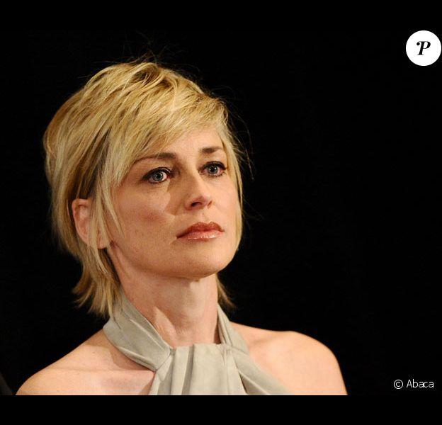 La comédienne Sharon Stone