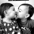Lola Marois fait une belle déclaration d'amour à ses jumeaux, Jules et Bella, sur Instagram. Le 13 juin 2018.