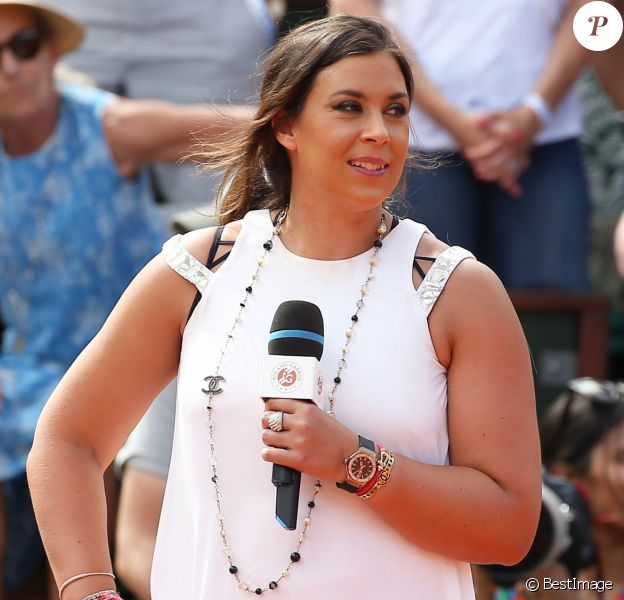 Marion Bartoli lors des Internationaux de France de Tennis de Roland Garros à Paris le 2 juin 2018. © Dominique Jacovides-Cyril Moreau / Bestimage