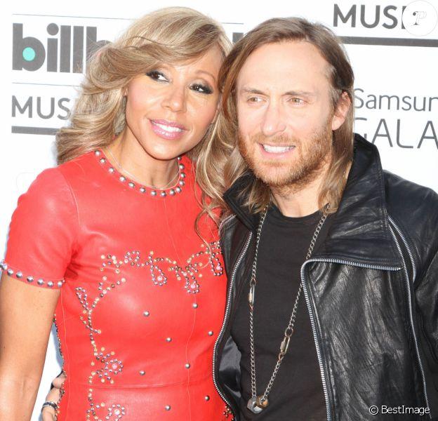 "David Guetta, Cathy Guetta - People a la soiree ""2013 Billboard Music Awards"" au ""MGM Grand Garden Arena"" a Las Vegas, le 19 mai 2013"