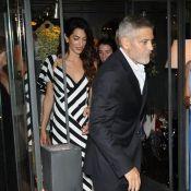 Amal et George Clooney : Couple chic pour sa première sortie après l'accident