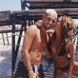 Anaïs Camizuli et Eddy à la plage - Instagram, 19 juillet 2018