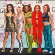 Les Spice Girls Victoria Adams, Emma Bunton, Mel B, Geri Halliwell et Mel C en 1997.