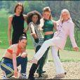 Les Spice Girls en mai 1996.