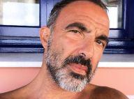 Nikos Aliagas en vacances : Barbu et torse nu, il s'affiche très sexy
