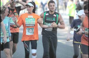 La sulfureuse Katie Price, blessée lors du marathon de Londres...