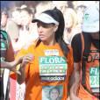 Katie Price au marathon de Londres