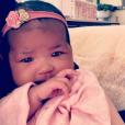 True Thompson sur le compte Instagram de sa mère, Khloé Kardashian.