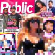 """Couverture du magazine """"Public""""."""