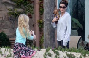 Sandra Bullock s'éclate avec son adorable fille... regardez !