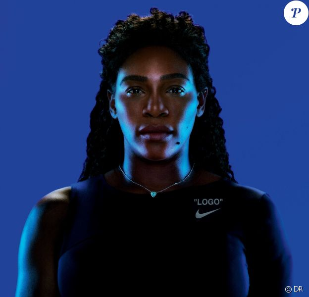 Serena Williams, visage de la collection Off-White™ c/o Serena Williams pour Nike.