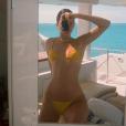 Kendall Jenner en bikini. Novembre 2017.