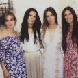Tallulah et ses soeurs Scout et Rumer ainsi que leur mère Demi Moore - Photo publiée sur Instagram le 26 juin 2017