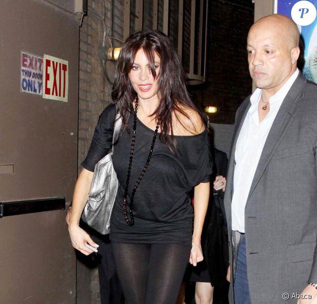 """La belle Sofia Vergara, à Broadway, pour la Première de """"Chicago"""", le 27 avril 2009, à New York !"""