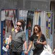 Exclusif - Macaulay Culkin et sa compagne Brenda Song à Paris le 10 août 2018.