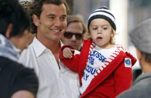 Kingston, le fils de Gwen Stefani, a tourné dans son premier clip ! Regardez !