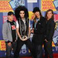 Le groupe Tokio Hotel aux MTV Video Music Awards, à Los Angeles en septembre 2008