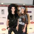 Bill et Tom Kaulitz, du groupe Tokio Hotel, aux MTV Europe Video Music Awards, à Liverpool en novembre 2008