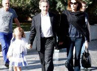 Carla Bruni : La petite Giulia, câline avec son papa Nicolas Sarkozy