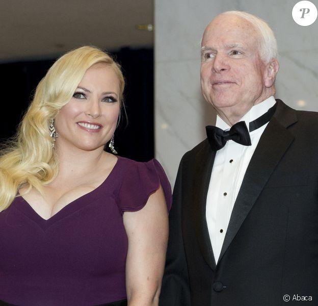 Joe McCain avec sa fille Meghan au dîner des correspondants de la Maison Blanche le 3 mai 2014