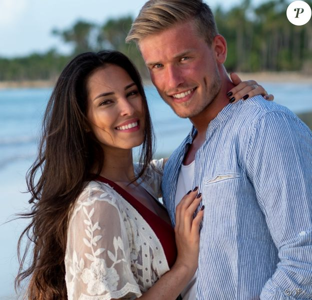"Tom et Hagda - ""La Villa : la bataille des couples"", photo officielle"
