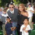 Toni Braxton en famille à la première de Madagascar 2, en octobre 2008 à Los Angeles